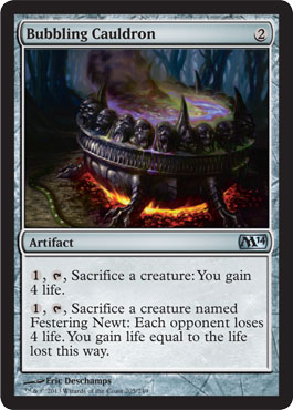 M14 Bubbling Cauldron